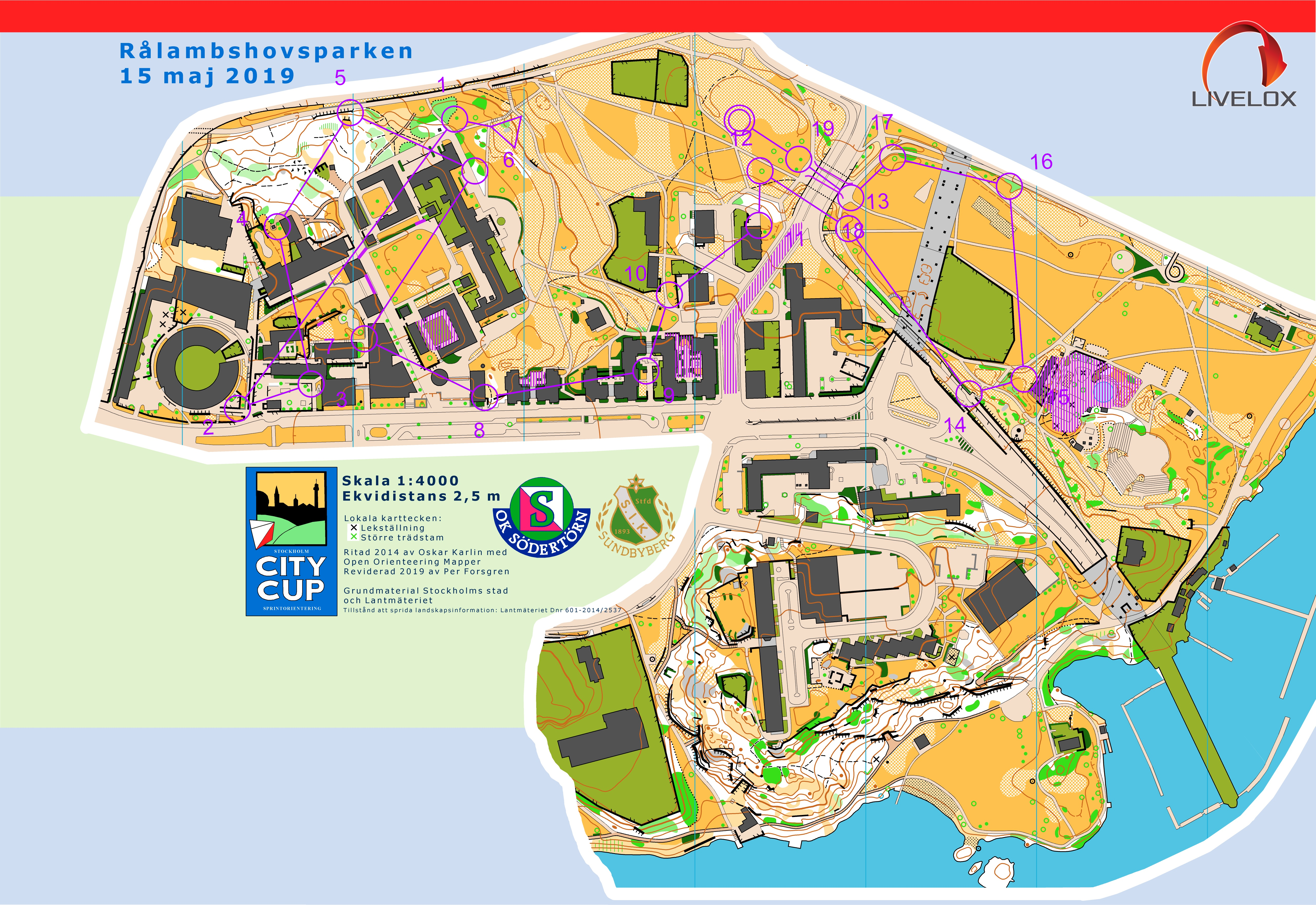 Stockholm City Cup #1 (2019-05-15)